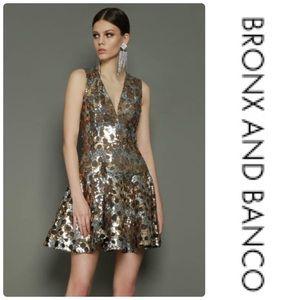 Bronx and Banco Nina Sleeveless Sequin Dress